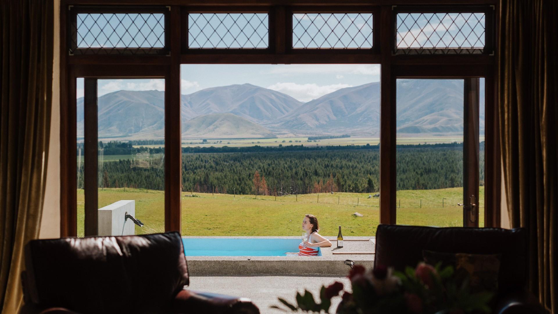 Mt Cook Lakeside Retreat Moraine Villa